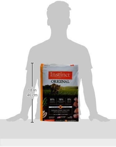 Instinct Original Receta de Pollo 5 kg para Gatos 12