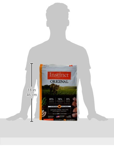 Instinct Original Grain Free Recipe with Real Chicken Natural Dry Cat Food by Nature's Variety, 11 lb. Bag by Instinct (Image #5)