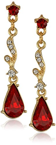 1928 Jewelry Downton Abbey Jeweled Heirlooms Gold-Tone an...