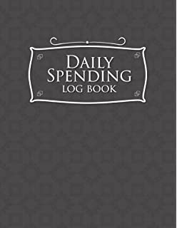 personal spending log daily expense log amazon co uk journals for