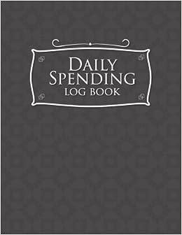 daily spending log book business expense log book expense notepad