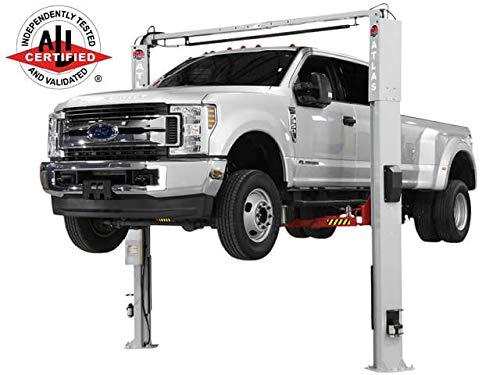 Atlas Platinum PVL-10 ALI Certified 10,000 Lbs. Adjustable Height 2 Post Overhead Car Lift