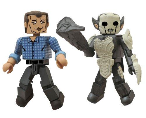 Diamond Select Toys Marvel Minimates: Thor 2: Series 53 Selvig and Dark Elf Action Figure, 2-Pack