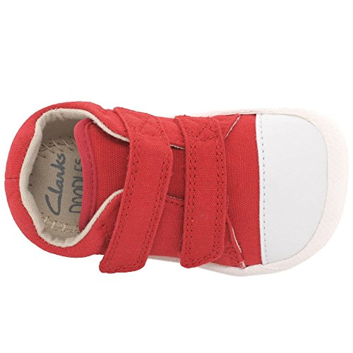 Clarks Scarpe Red Rosso Stringate Donna HBqnaFwC