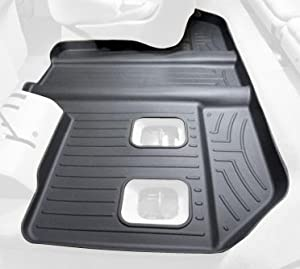 WeatherTech Custom Fit Rear FloorLiner for Select Cadillac/GMC/Chevrolet Models (Black)