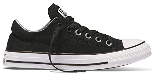 (Converse Women's Chuck Taylor All Star Madison Ox Basketball Shoe Black/Black/White 6 B(M) US)