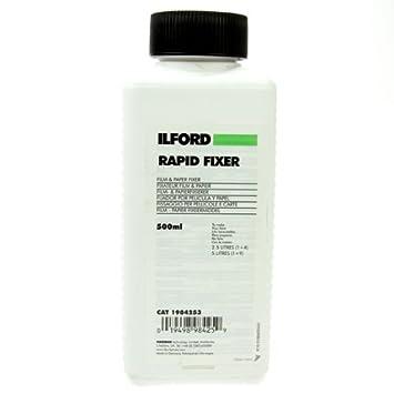 Amazoncom Ilford Rapid Fixer 500ml Darkroom Photographic