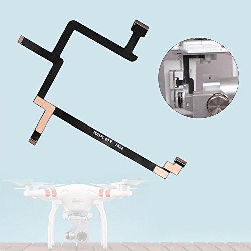 Flexible Gimbal Camera Flat Ribbon Flex Cable for DJI Phantom Standard Drone(Color:Black)