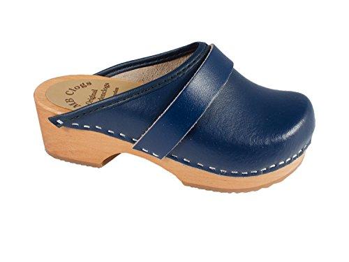 Clogs Kinderclogs marineblau