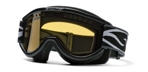 Smith Snow SME Dual Airflow AFC Lens Goggle (Black and Yellow)