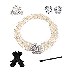 5 Piece Costume Accessories Jewelry Set