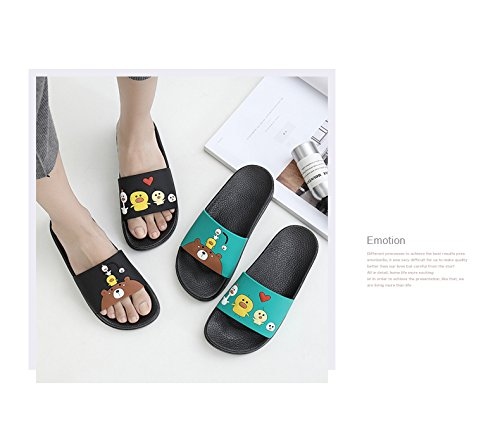 Elais J Unisex (donna) Comfor Sandalo Scorrevole Interno / Esterno Fiore Giallo