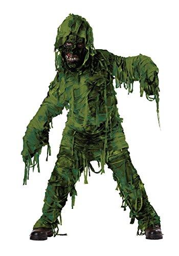 Boys Swamp Creature Monster Costume Size Med 8-10 (Swamp Monster Costume)