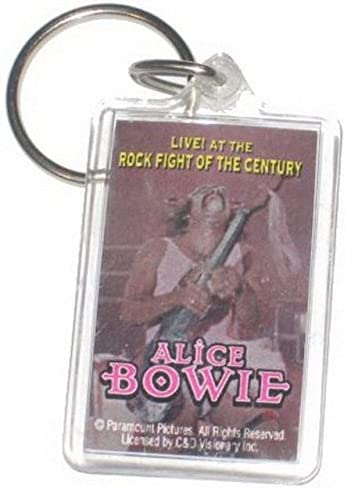 CD Visionary Alice Bowie Rock Fight Century Lucite Keychain