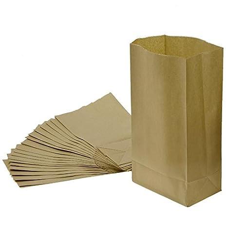 Primi 20pcs marrón bolsa de la compra papel Kraft bolsa de ...