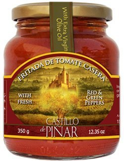 Tomato Sauce Fritda De Tomate Casera Pan Cooked with Extra Virgin Olive Oil By Castillo De
