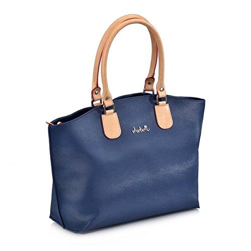 Shopping 1010 Azul Bolsos CABALLO EL para Mujer Bolso qtw1IE6