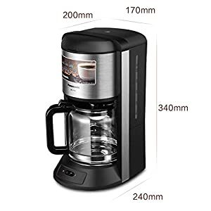 KOUDAG Macchina caffè Alta Temperatura del Vapore del caffè Macchina Intelligente di Temperatura costante capacità…