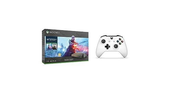 Microsoft Xbox One X - Consola 1 TB + Battlefield V + Microsoft ...