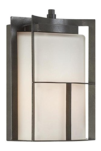Charcoal 1 Light Outdoor Wall Lantern by Designers Fountain
