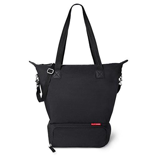 Skip Hop Tray Chic Dry and Store Pump Bag, Black]()