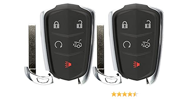 KeylessOption Keyless Entry Remote Control Car Key Fob Replacement for Elantra OSLOKA-360T Pack of 2