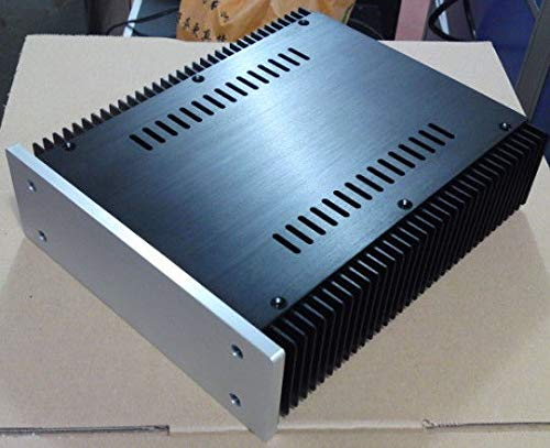 FidgetFidget Power Amplifier Enclosure/Headphone amp/preamp case 2107- Full Aluminum DIY