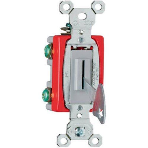 PASS & SEYMOUR PS20AC1L 20A Gry SP Keyed Switch - Keyed Sp Switch