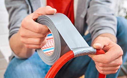 tesa extra Power Universal Gewebeband - Gewebeverstärktes Ductape zum Reparieren, Befestigen, Bündeln, Verstärken oder…