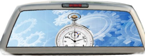 Pocket Watch- 22 Inches-by-65 Inches- Rear Window - Crabtree Hours