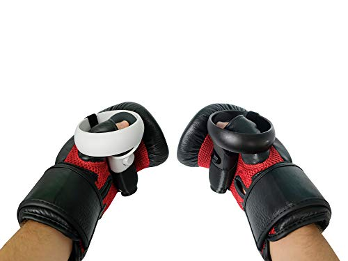 DeadEyeVR Ultimate Boxing Gloves – Boxing Mitts for Oculus Quest and Rift S for Virtual Reality Thrill of The Fight…
