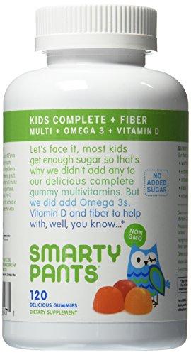 SmartyPants Fiber Complete Sugar Vitamin product image
