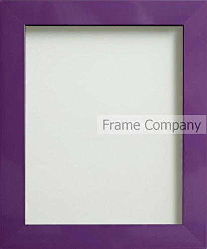 Frame Company Candy Range A4 Plastic Picture Photo Frames, Purple ...