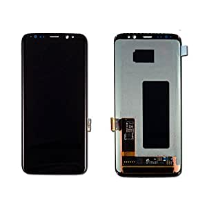 OEM Samsung Galaxy S8 Full LCD Display Mobile Phone Repair Part Replacement - Black