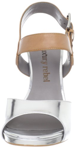 Silver 2 Luxury Natural Judith Women's Pump Rebel nqqaXgH