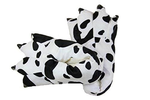 FashionFits Unisex Soft Plush Home Slippers Animal Costume