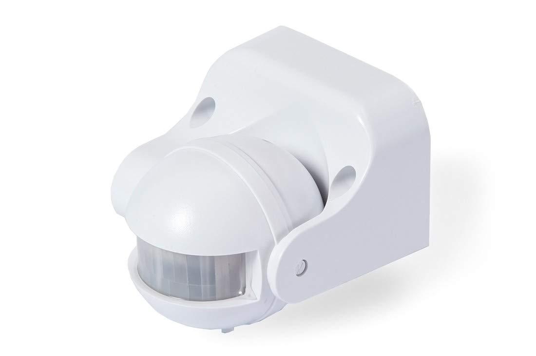 180 /° orientabile 30 m OurLeeme Sensore di movimento a infrarossi per esterni Sensore di movimento a infrarossi Sensore PIR Portata max