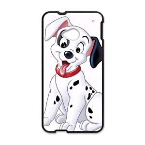 HTC One M7 Phone Case Black One Hundred and One Dalmatians Patch DYW5163015