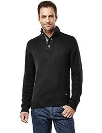 Men's Sweater Chunky Knit Shawl Collar
