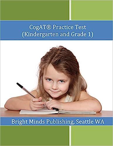 Amazoncom Cogat Practice Test Kindergarten And Grade 1