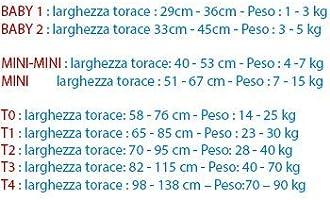 Poitrail : 51-67cm 2 /étiquettes /à Personnaliser Mini Canicaprice Harnais Julius K9 Power IDC Rose