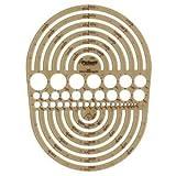6 Pack TEMP. CIRCLE RADIUS MASTER Drafting, Engineering, Art (General Catalog) by Pickett