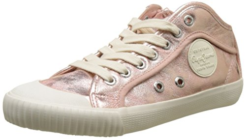 Jeans Petal Pepe Industry Zapatillas Rosa Mujer Met ApPfPqdw