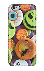 Hot Tpu Cover Case For Iphone/ 6 Plus Case Cover Skin - Halloween Cookies 8931077K73202421