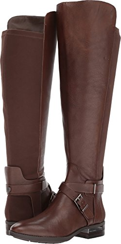Vince Camuto Women's Paton Fashion Boot, Sherwood bark Wide Calf, 7 Medium ()