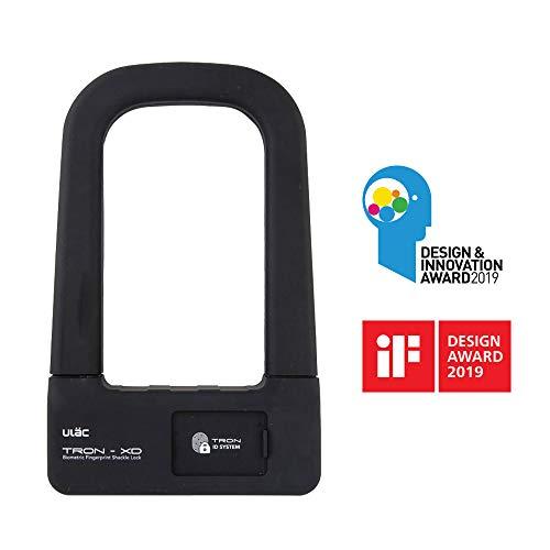 ULAC TRON-XD Fingerprint U-Lock for bicycle, e-bike, scooter, door lock, iF Design Award 2018
