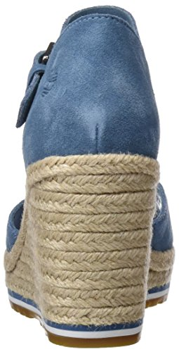 Coast aegean Suede 476 Canvas And Timberland Mules Nice Femme Blue Strap Bleu 1Ow1xTFq05