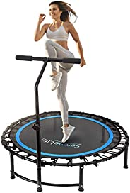 """Serenelife 36"""" Inch Portable Fitness Trampoline – Sports Trampoline for Indoor and Outdoor Use – Professi"""