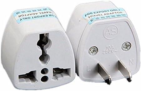 UK To China Adaptor UK To Australia Adapter Converter For Travel Work 2 Pack