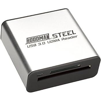 Hoodman STEEL SuperSpeed USB 3.0 UDMA Card Reader